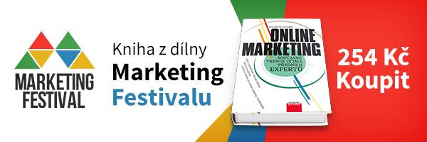 Kniha Online Marketig v češtině
