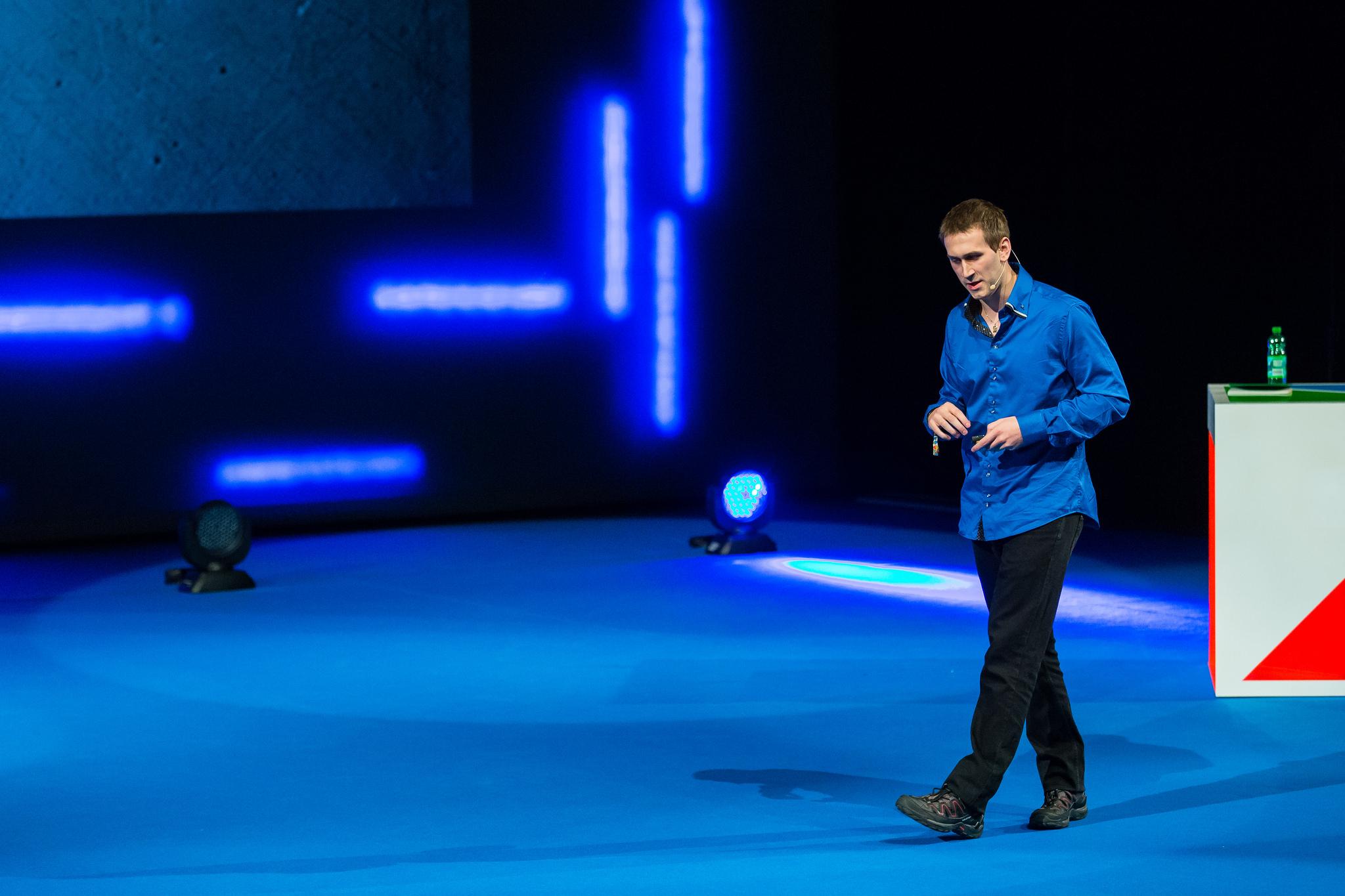 Filip Podstavec na Marketing Festivalu 2014