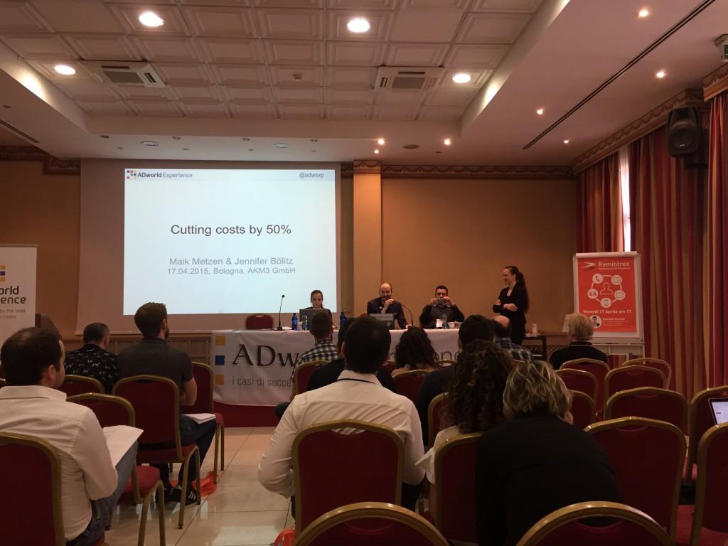 Fotografie z komorní konference Adworld Experience v Itálii